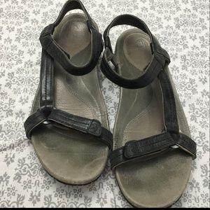 Teva Sandal-Meadow Luxe Lifestyle-Black-size 8